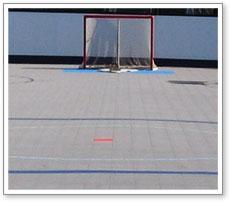 Maryland Roller Hockey Surfacing Rink Floor Inline Skate Surface - Skate court flooring