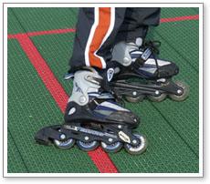 Backyard Roller Hockey