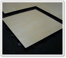 Hardwood surface system