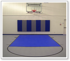 Indoor Basketball Court Personal In Home Gym Exercise Room